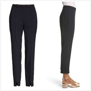 Ted Baker Pants - Ted Baker Working Title Front Slit Skinny Trousers